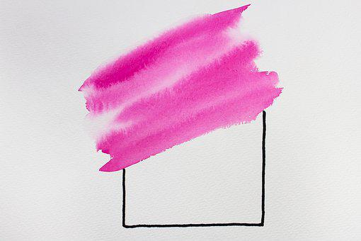 Valentine's Day, Love, Template Graphics, Watercolour