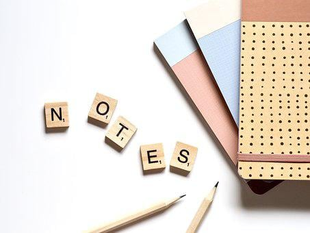 Note, Notepad, Write, Notebook, Paper, Desk, Notes