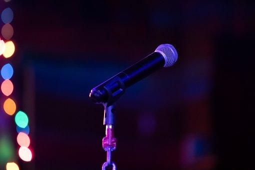Microphone, Speak, Sound, Object, Musical, Media