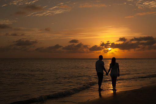 By Sunsets, Love, End Of Afternoon, Casal, Passion