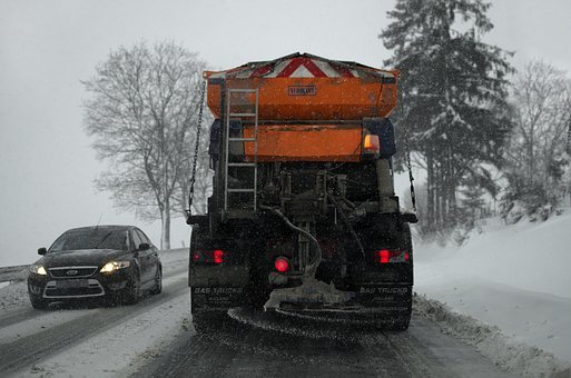 Weather, Ice, Blizzard, Plow, Way, Conditions, Snow