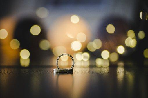 Wedding, Rings, Ring, Bokeh, Pre-wedding