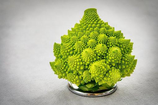 Romanesco, Cauliflower, Vegetables, Healthy, Green