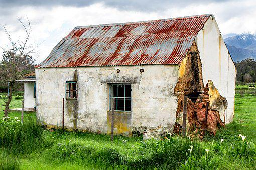 Rustic House, Country House, Derelict Building