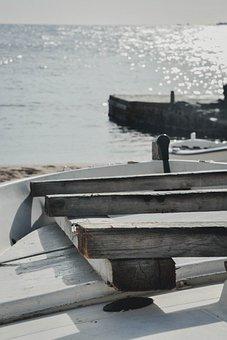 Boat, Blue, Sea, Holiday, Sky, Ocean, Lake, Beach