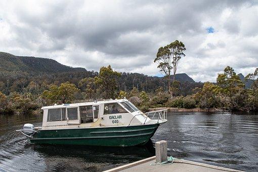 Ferry, Boat, Lake St Clair, Tasmania, National Park