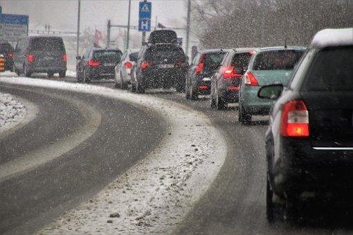 Transport, Highway, Bend, Travel, Asphalt, The Stopper