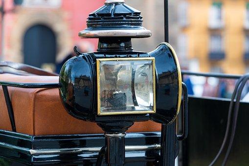 Carriage, Lamp, Vehicle, Transport, Transportation