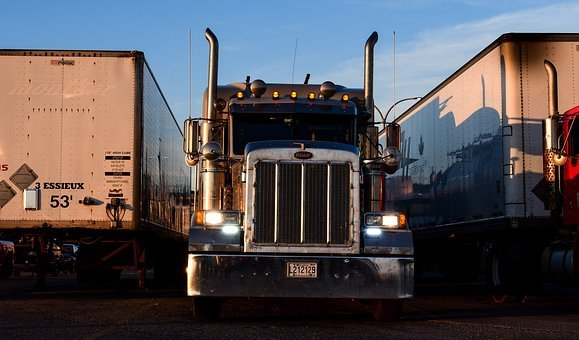 Truck, Trailer, Vehicle, Transport, Freight, Shipping