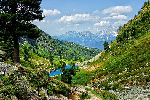 Gasselsee, Alpine, Bergsee, Nature, Blue, Schladming