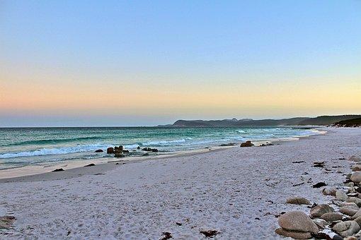 Australia, Tasmania, Nature, Beach, Sky, Coast
