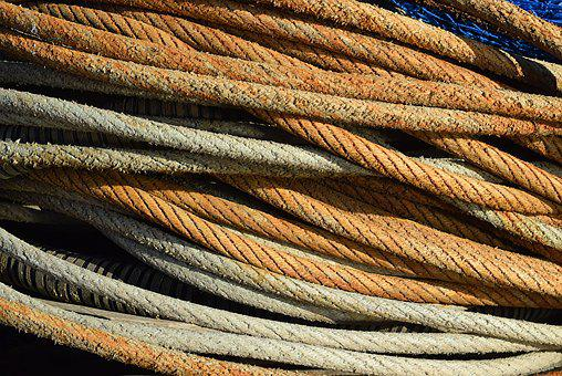 Rope, Coil, Texture, Nautical, Boat, Deck, Coiled