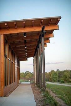 Architecture, Park, Building, Cedar, Industrial