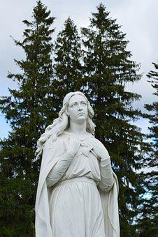 Mary, Mother, Religion, Christian, Christianity, Statue
