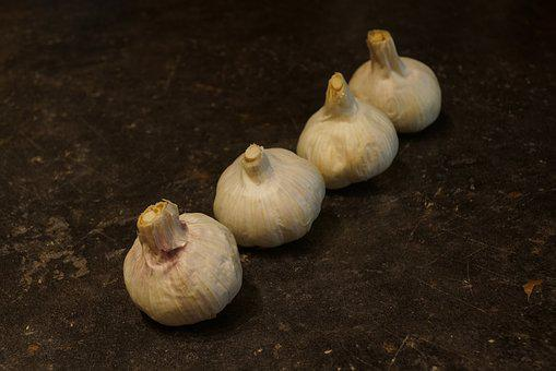 Garlic, Spice, White, Nutrition, Food, Cook, Healthy
