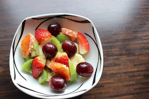 Fruit, Fruit Salad, Raw Food, Mango, Bio, Vegetarian