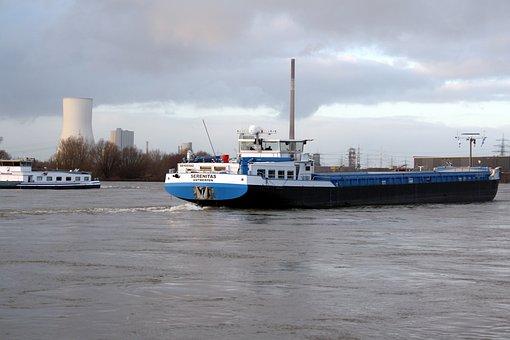 Duisburg, Port Motifs, Harbour Cruise, Rhine