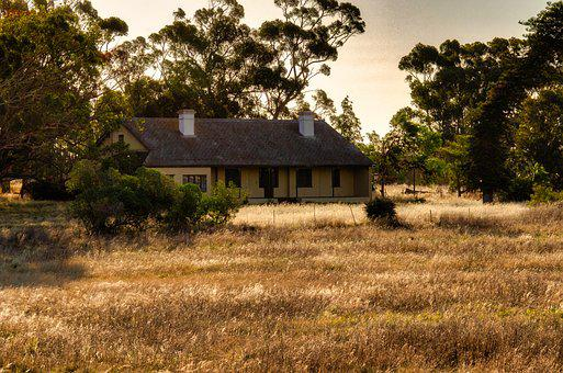 House, Farmhouse, Cottage, Field, Rustic, Farm