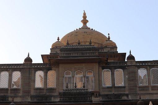 Palace, Mandvi, India, Kutch, Culture, Travel, Hindu