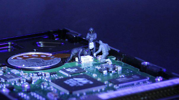 Information Technology, Data Thieves, Miniature Figures