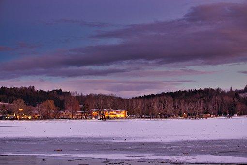 Stubenberg, Sunset, Nature, Sky, Evening, Landscape