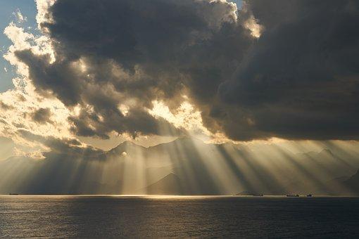 Landscape, Magnificent, Solar, Sunset, Unbelievable