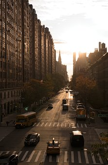 New York, City, Manhattan, Cityscape, Nyc, America
