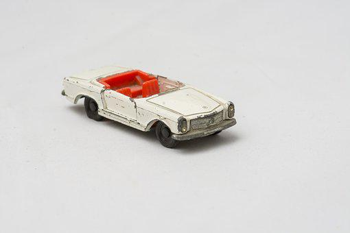 Mercedes, Accident, Matchbox, Found In The Cellar
