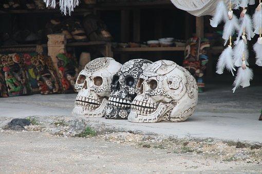 Calavera, Skull Mexican, Mexico, Skull, Calaverita