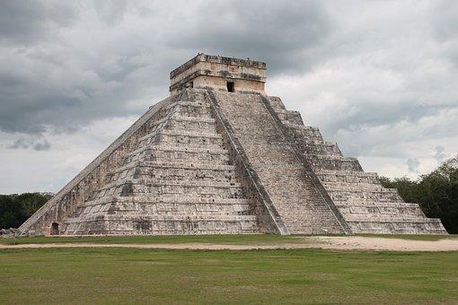 Chichen-itza, Maya, Mexico, Pyramid, Archaeology