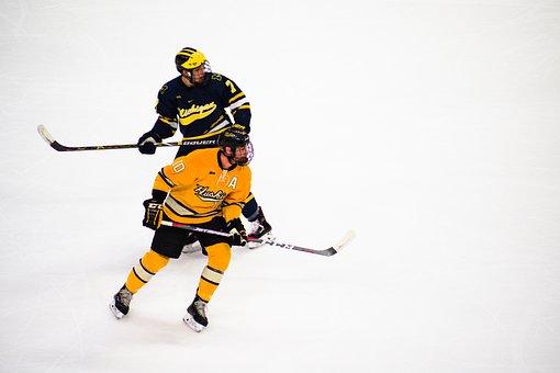 Hockey, Ice Hockey, Players, Sport