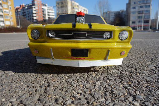 Rc Car, Rc Ford Mustang, Rc Model