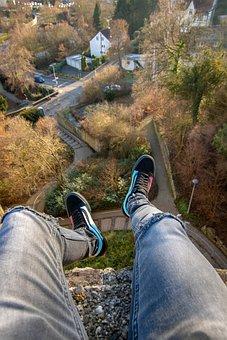 Vans, Rooftop, Bad Münstereifel, Castle, Legs, Ext