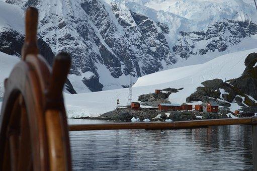 Rudder, Antarctica, Base, Bay, Paradise