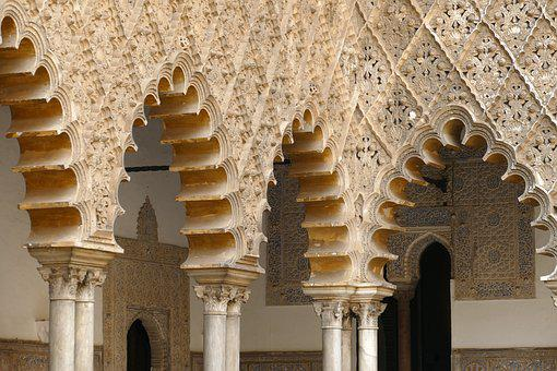 The Real Alcázar, Palace, Royal, Sevilla, Andalusia