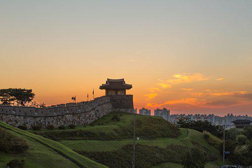 Suwon Hwaseong, Unesco, The Northeast Day, Suwon, The