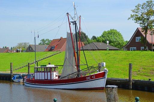 East Frisia, Greetsiel, North Sea, Vacations