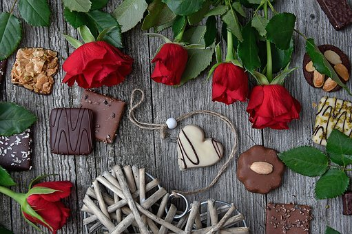 Red Rose, Red Rose Bouquet, Valentine's