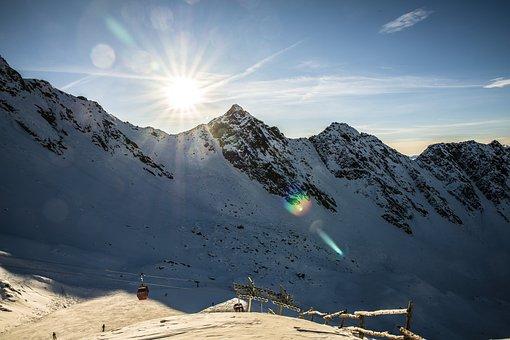 Klausberg, South Tyrol, Mountains, Snow, Ahrntal Valley