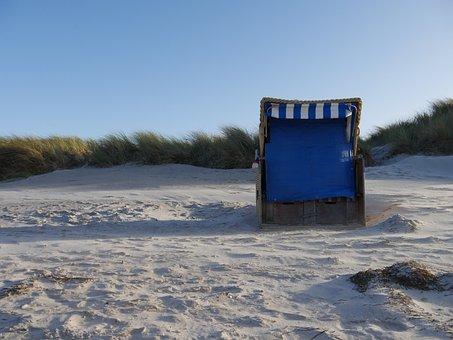 Beach, Baltic Sea, Schoenberg, Kiel, Winter, Wind