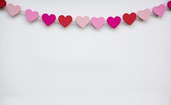 Valentine, Border, Background, Frame, Text Space