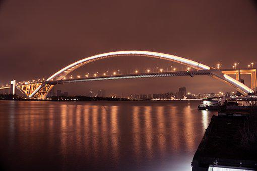 Beautiful, Bridge, Building, Bund, Bund Life, China