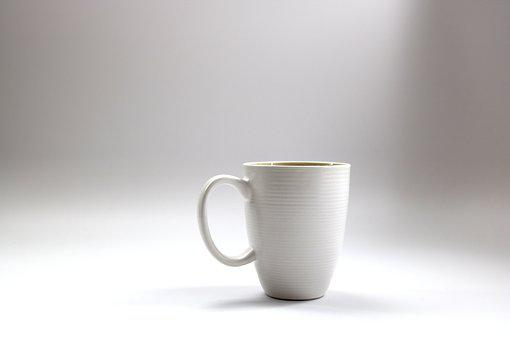 Coffee, Mug, Drink, Cup, Handle, White