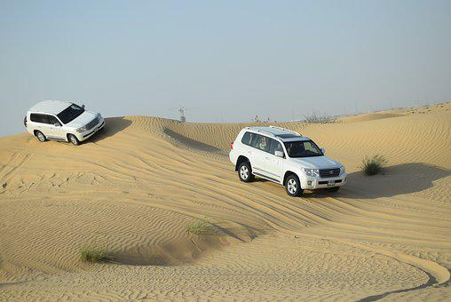 Desert, Car, Sand, Natural, Travel, Dunes, Vehicle