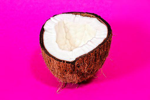 Coconut, Drupe, Tropical, Food, Exotic, Eat, Healthy