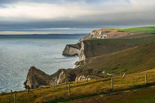 Jurassic Coast, Dorset, England, Uk, Nature