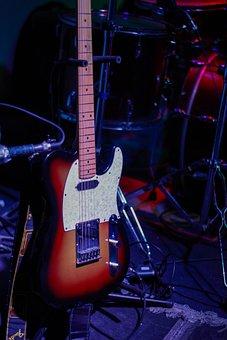 Guitar, Music, Telecaster, Fender, Instrument, Jazz
