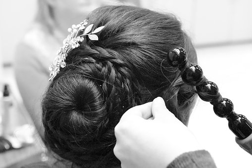 Hairdo, Curling, Hairstyle, Styling, Curlers, Updo