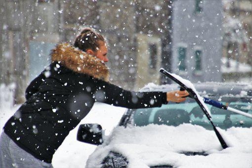 Winter, Bokeh, Snow, White, Snowflake, Ice, Difficulty
