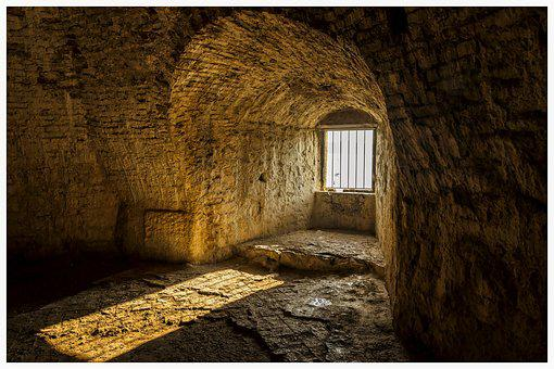Castle, Light, Prison, Grating, Croatia, Trogir